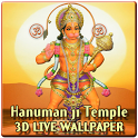 Lord Hanuman 3D Temple LWP icon