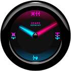 Laser Clock Widget A-MYSTIC icon