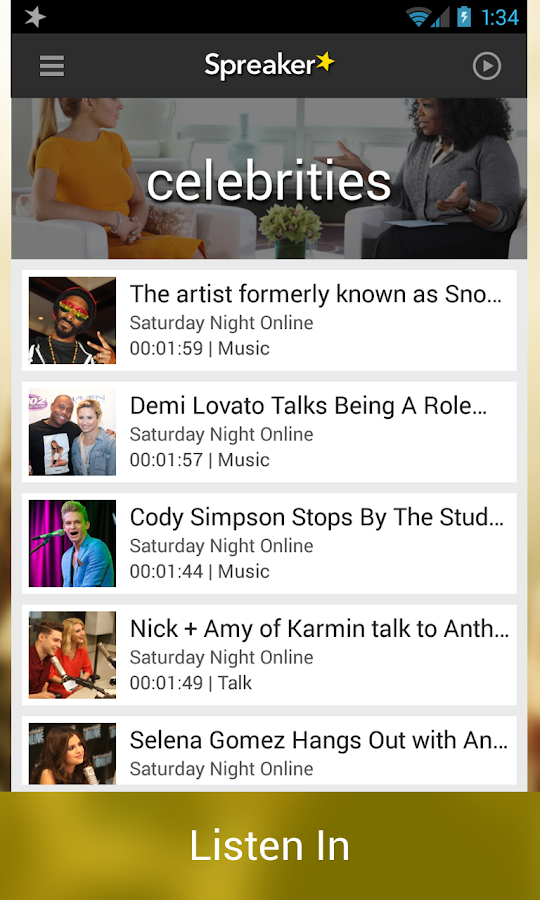 Spreaker - Radio & Podcasts - screenshot
