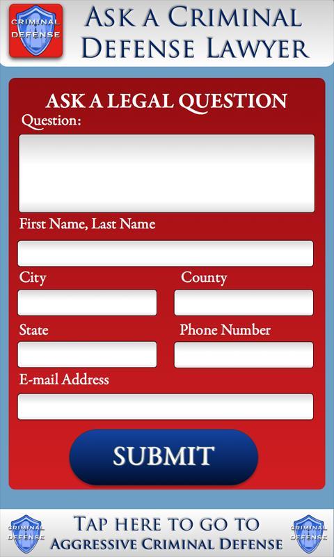 Ask a Criminal Defense Lawyer- screenshot