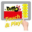 Demo123 Touch & Play互動式觸控廣告機 icon