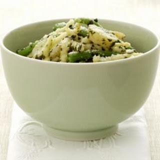 Trofie Pasta Liguria (Pasta with Pesto, Potatoes and Green Beans) Recipe