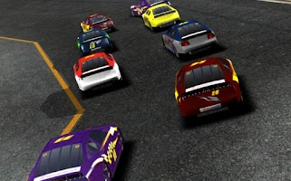 Screenshot of Racing Cars