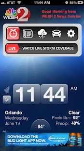 Alarm Clock WESH2 News Orlando - screenshot thumbnail