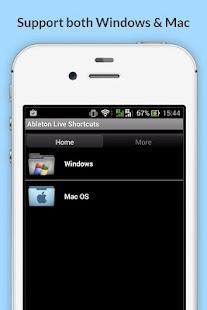 Free Ableton Live Shortcuts screenshot