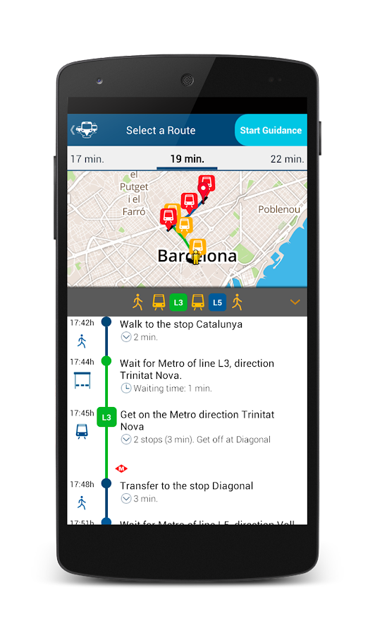 App&Town Public Transport- screenshot