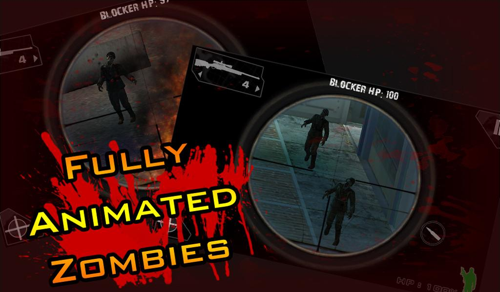 iSnipe: Zombies (Beta)- screenshot