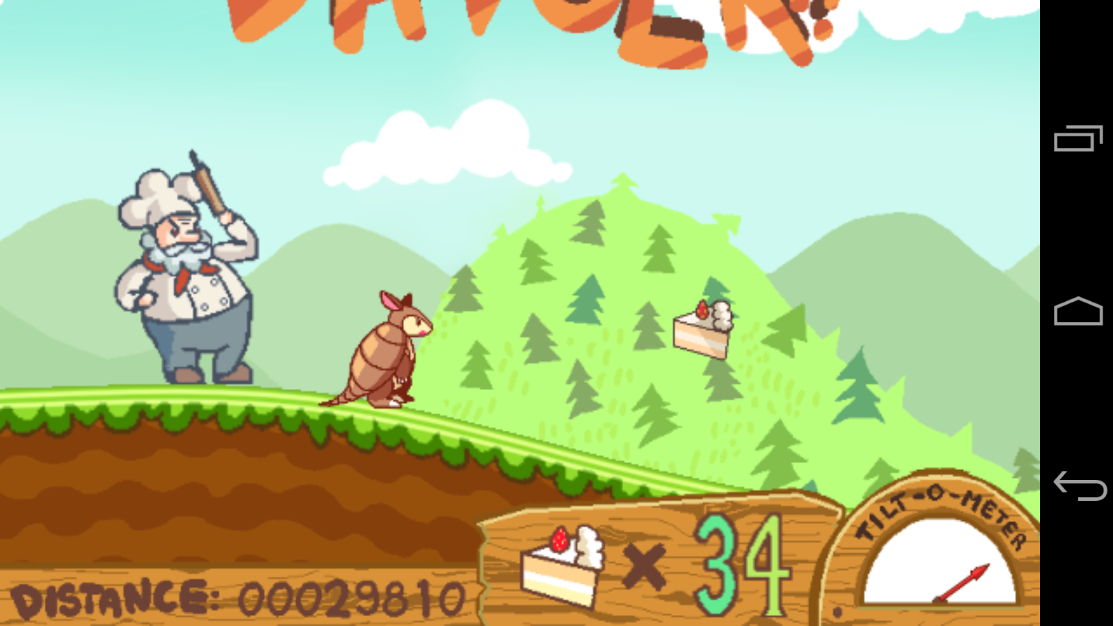 Dillo Dash- screenshot