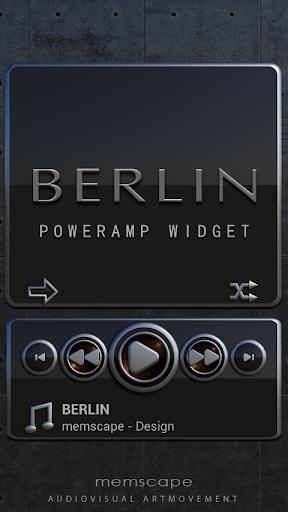 Poweramp Widget BERLIN
