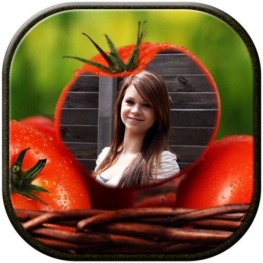 My Photo in Fruit Frame