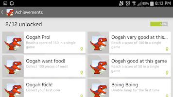 Screenshot of Dinosaur Dodge