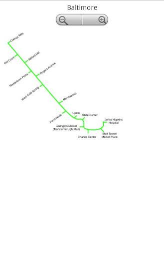 Baltimore Metro Subway
