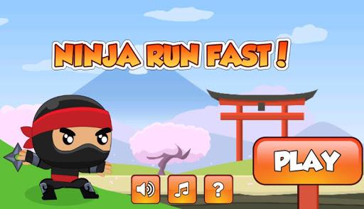 Ninja Run Fast