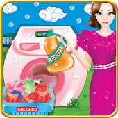 Mother Washing Laundry Games