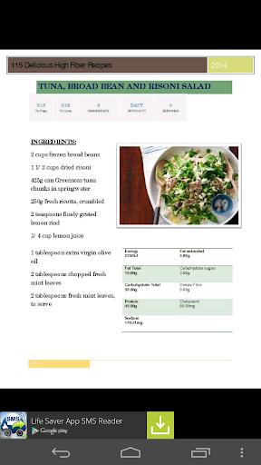 115 High Fiber Recipes