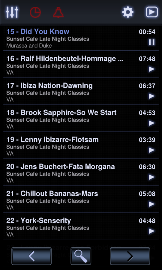 Neutron Music Player - screenshot