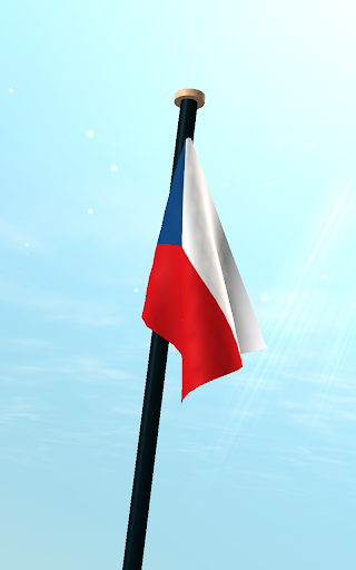捷克共和國旗3D動態桌布 個人化 App-癮科技App