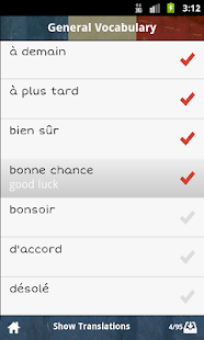 French GCSE Vocabulary AQA- screenshot thumbnail