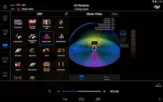 Screenshot of AV CONTROLLER
