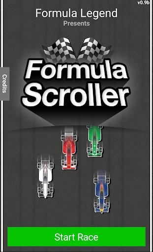Formula Scroller - Tap GP Cars