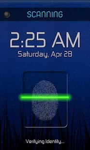 Fingerprint Lock Free - screenshot thumbnail
