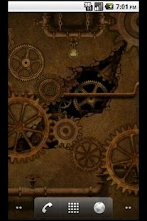 Steampunk Gears 2 LWP - screenshot thumbnail