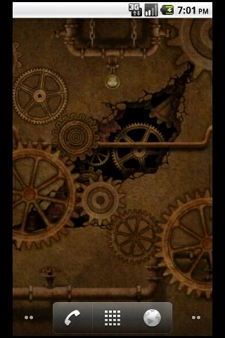 Steampunk Gears 2 LWP - screenshot
