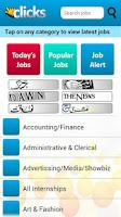 Screenshot of Clicks - Jobs for Pakistanis