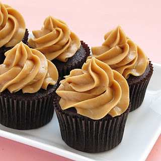 Dark Chocolate Cupcakes.