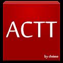 카카오톡 ACTT Red Wine 테마 icon