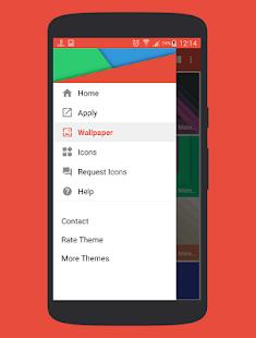 Naxos Flat Round Icon Pack - screenshot thumbnail