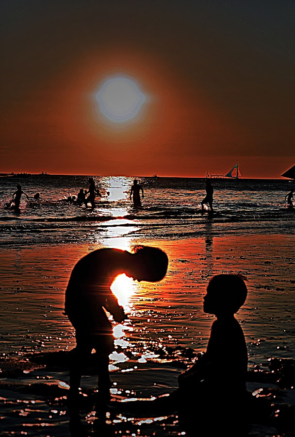 Brothers by Brahma Foz - Landscapes Sunsets & Sunrises ( silhouette )