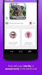 rumr: anonymous messenger - screenshot thumbnail