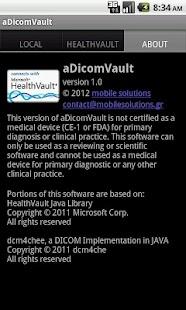 aDicomVault- screenshot thumbnail