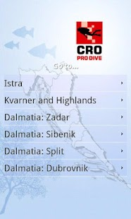 mX Diving Croatia - Top Guide- screenshot thumbnail