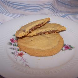 Peanut Butter Chocolate Sandwich Cookies