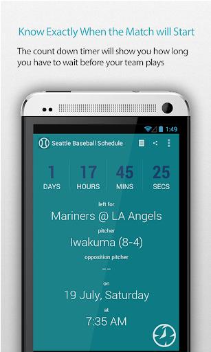 Seattle Baseball Schedule