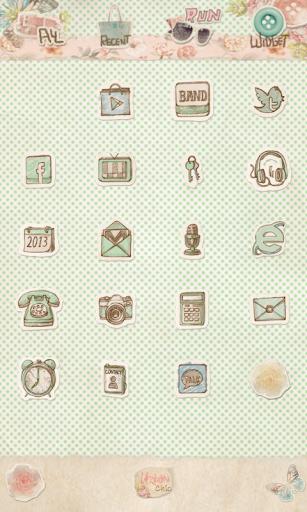 玩個人化App|어반시크 꼴라쥬 도돌런처 테마免費|APP試玩