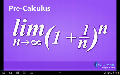 Pre-Calculus by WAGmob - screenshot thumbnail