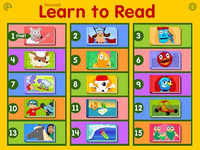 Starfall 学着阅读