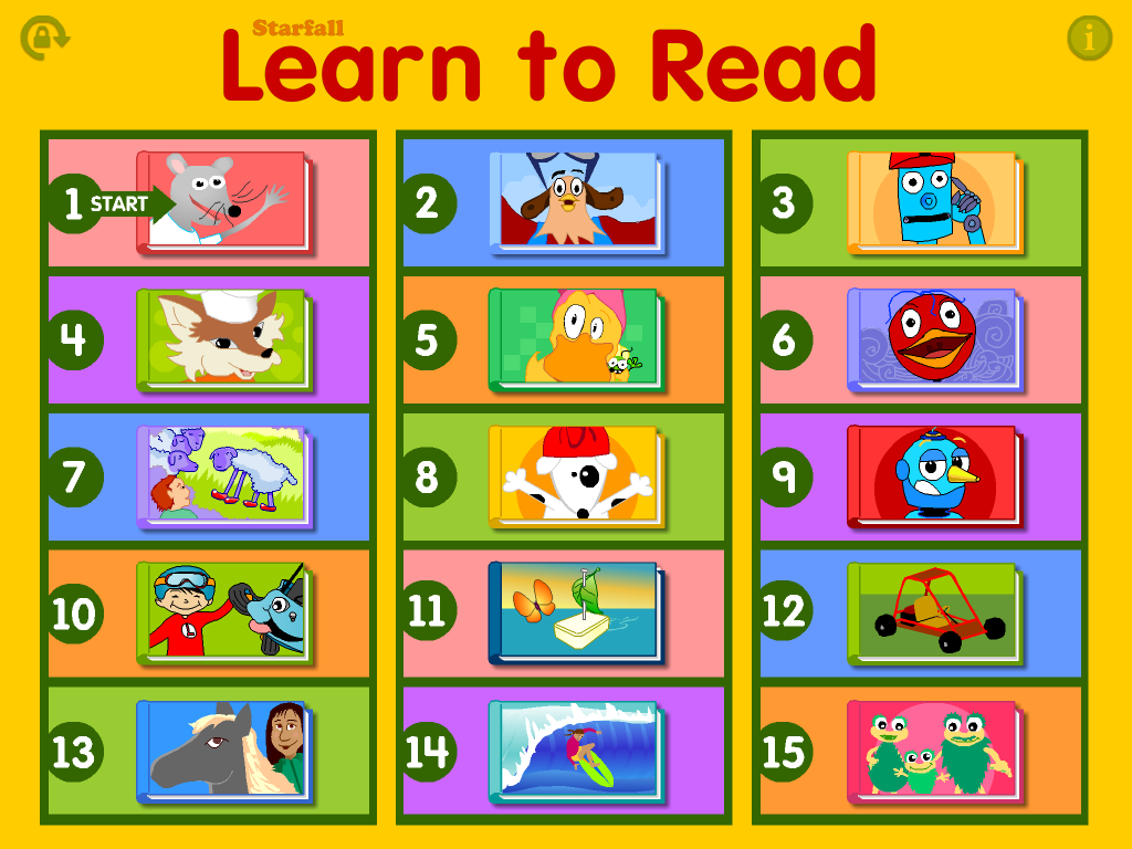 Starfall Learn to Read - screenshot