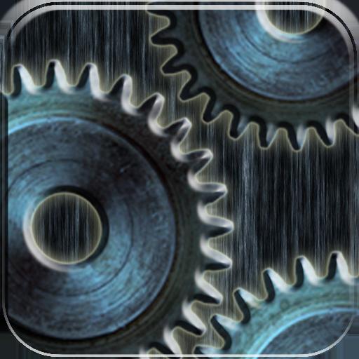 Animated Gears Live Wallpaper LOGO-APP點子