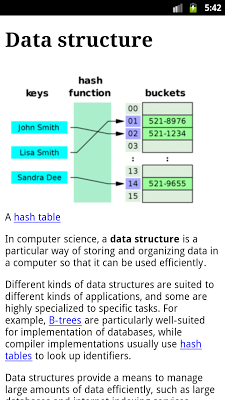 Data Structures - screenshot
