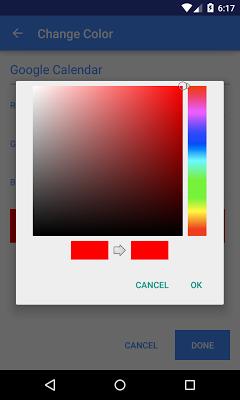 Calendar Colors - screenshot