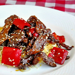 Five Spice Ginger Beef Recipe