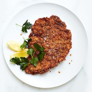 Pretzel-Crusted Pork Schnitzel Recipe