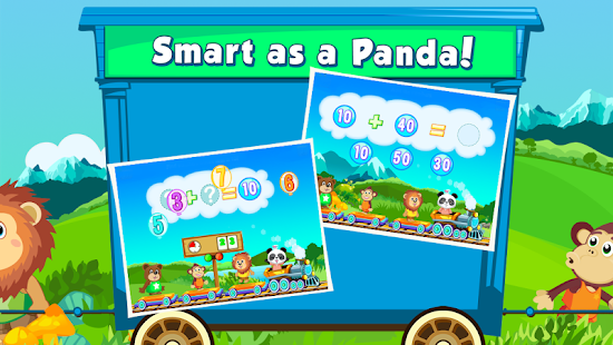 Lola Panda's Math Train 2 FREE- screenshot thumbnail