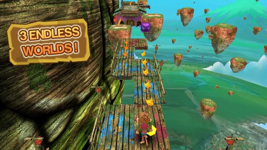 Super Monkey Run- screenshot