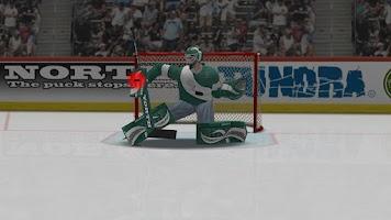 Screenshot of Virtual Goaltender