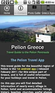 Pelion Greece- screenshot thumbnail